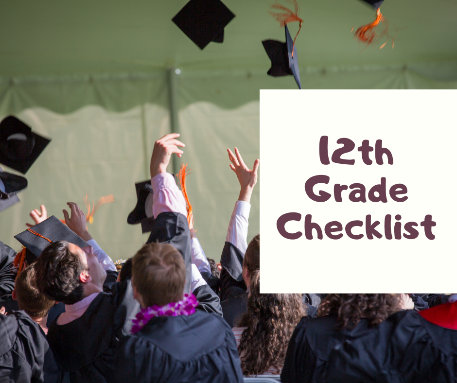 12th Grade College Checklist
